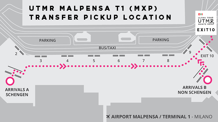 Malpensa Airport Arrival meeting point